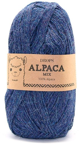 Drops Alpaca Mix 6360 Blau