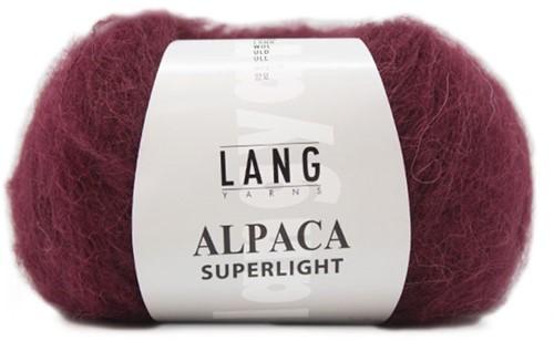 Lang Yarns Alpaca Superlight 64 Bordeaux