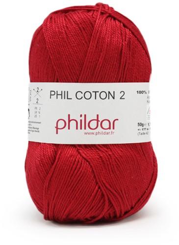 Phildar Phil Coton 2 1272 Griotte
