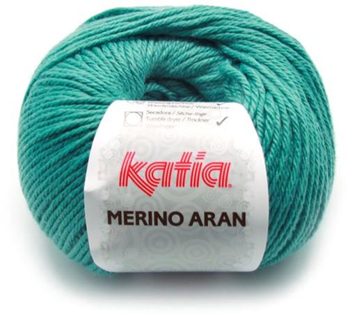Katia Merino Aran 65 Pastel turquoise