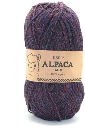 Drops Alpaca Mix 6736 Blau-lila
