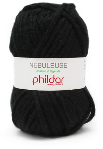 Phildar Nebuleuse 1200 Noir