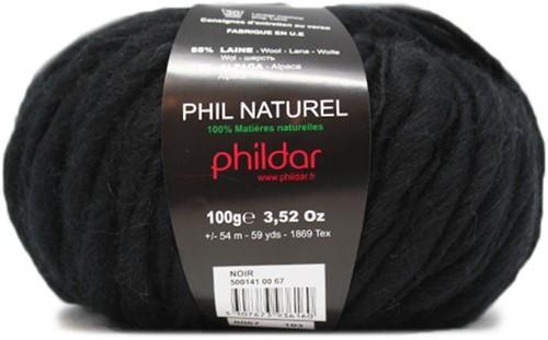 Phildar Phil Naturel 1200 Noir