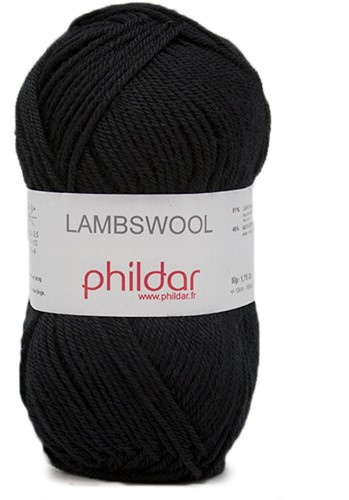 Phildar Lambswool 1200 Noir