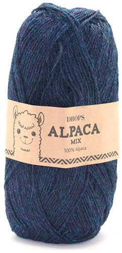 Drops Alpaca Mix 6834 Blau/türkis