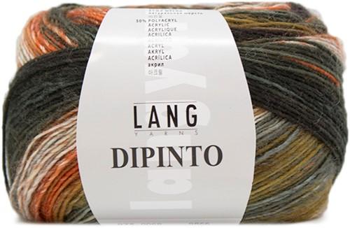 Lang Yarns Dipinto 68 Brown/Brick