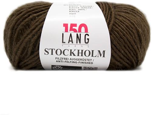 Lang Yarns Stockholm 68 Dark Brown