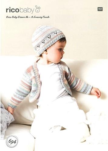 Rico Flyer Baby Dream DKBaby Bolero und Mütze