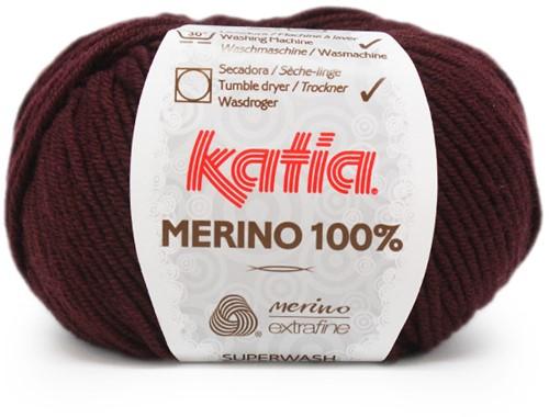 Katia Merino 100% 69 Chestnut