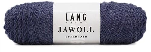 Lang Yarns Jawoll Superwash 69 Blue Melange