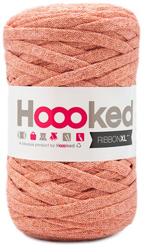 Hoooked RibbonXL Lurex 6 Rose Gold
