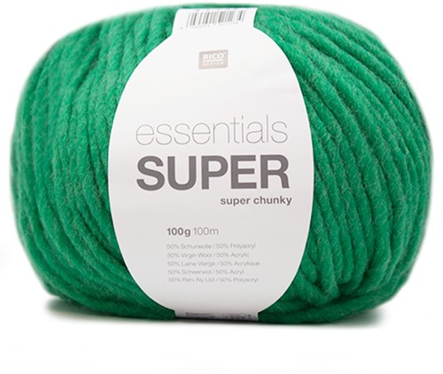 Rico Essentials Super Super Chunky 6 Emerald