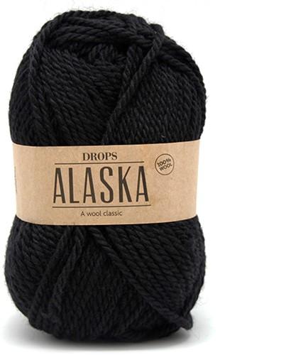 Drops Alaska Uni Colour 06 Black