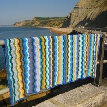 Coast Blanket Attic24 CAL Garnpaket