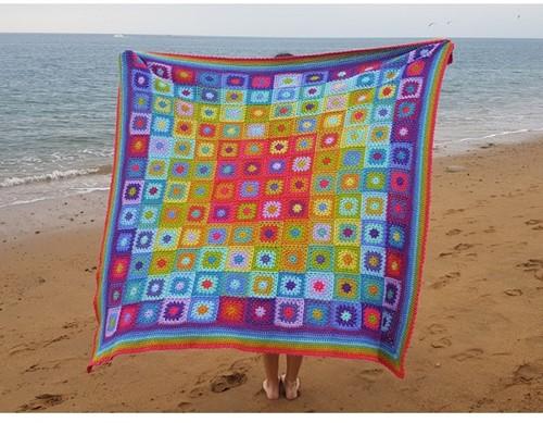 Aria Blanket Garnpaket