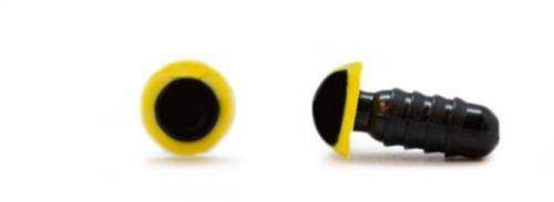 Sicherheitsaugen Gelb 6mm 2 Stück