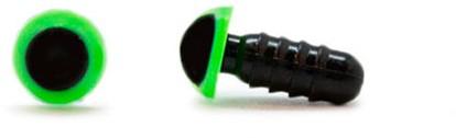 Sicherheitsaugen Grün 6mm 2 Stück