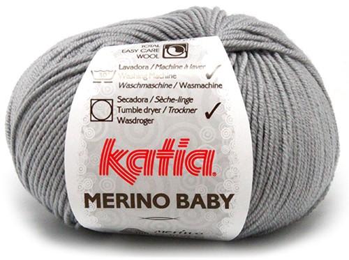 Katia Merino Baby 70 Light grey