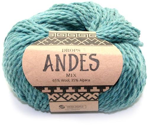 Drops Andes Mix 7130 Meeresgrün