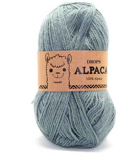Drops Alpaca Uni Colour 7139 Graugrün