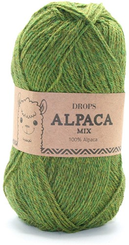 Drops Alpaca Mix 7238 Dunkel-oliv
