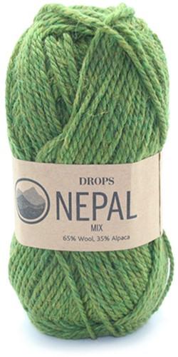 Drops Nepal Mix 7238 Oliv