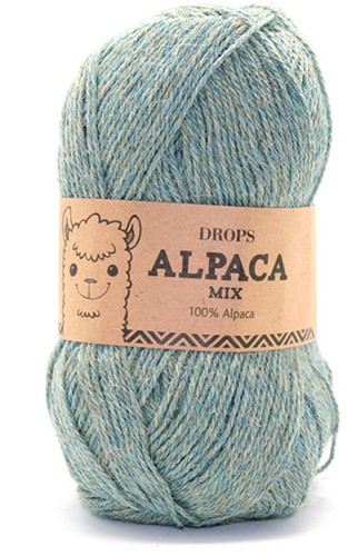 Drops Alpaca Mix 7323 Aquagrau