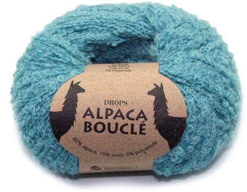 Drops Alpaca Bouclé Uni Colour 7402 Hell-seegrün