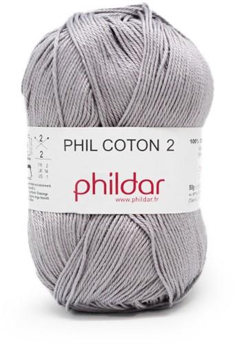 Phildar Phil Coton 2 1462 Silver