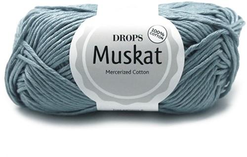 Drops Muskat Uni Colour 76 Sky-blue