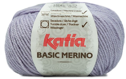 Katia Basic Merino 77 Light lilac