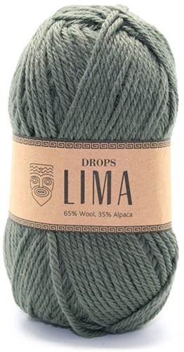Drops Lima Uni Colour 7810 Moosgrün