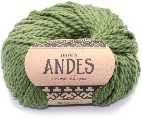 Drops Andes Uni Colour 7820 Grün
