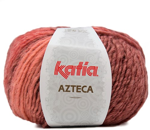 Katia Azteca 859 Pale Red/Wine Red
