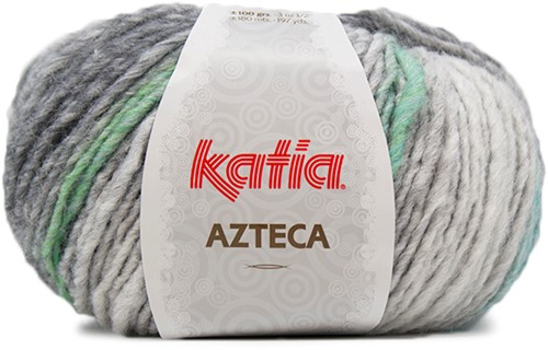 Katia Azteca 863 Grey/Green/Blue