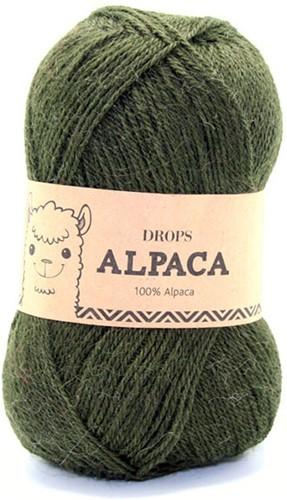 Drops Alpaca Uni Colour 7895 Grün/türkis