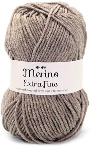 Drops Merino Extra Fine Mix 07 Hellbraun