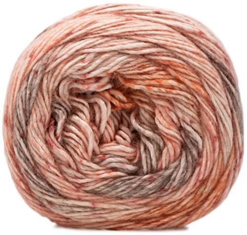 Lana Grossa Gomitolo Duo 400 803 Natural/Peach/Salmon/Orange/Taupe