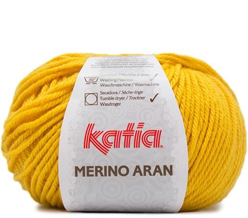 Katia Merino Aran 80 Yellow