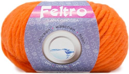 Lana Grossa Feltro 80 Orange