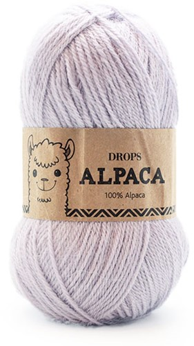 Drops Alpaca Uni Colour 8105 Eisblau
