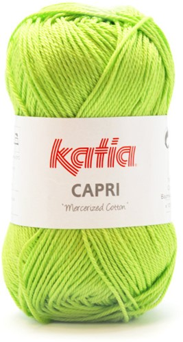 Katia Capri 160 Yellow green