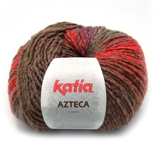 Katia Azteca 839 Brown/Rust/Dark Purple