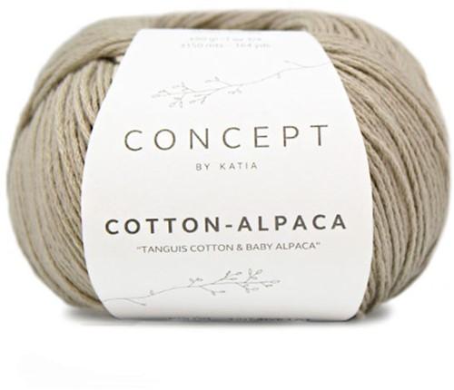 Katia Cotton Alpaca 83 Camel