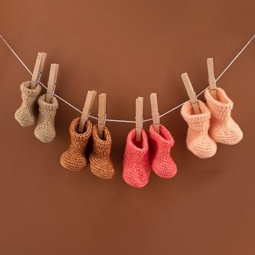 Häkelanleitung Yarn and Colors Oh Baby! Crochet Booties