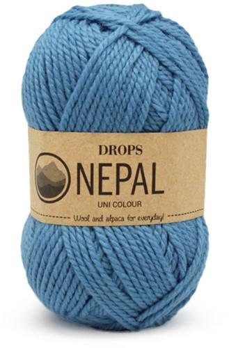 Drops Nepal Uni Colour 8783 Vergiss- mein-nicht