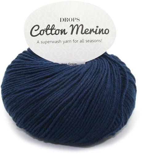 Drops Cotton Merino Uni Colour 8 Marine