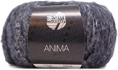 Lana Grossa Anima 08 Dark Blue Mottled