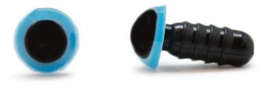 Sicherheitsaugen Blau 8mm 2 Stück