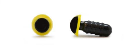 Sicherheitsaugen Gelb 8mm 2 Stück